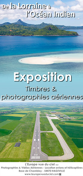 Exposition Timbres & photographies aériennes