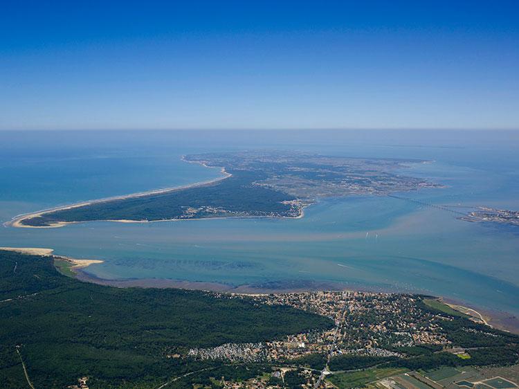 Photo aerienne l 39 europe vue du ciel photos a riennes - Office du tourisme st pierre d oleron ...