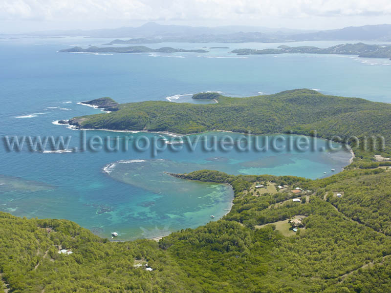Photo aérienne de Guadeloupe