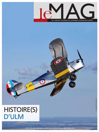 Photo air-air Le Mag - Histoires d'ULM