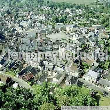 L 39 europe vue du ciel photos a riennes de la chartre sur le loir 72340 - La chartres sur le loir ...