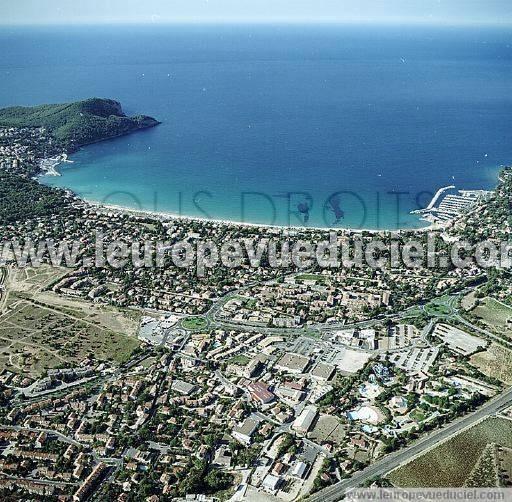 Photos a riennes de saint cyr sur mer 83270 les - Office du tourisme saint cyr sur mer ...
