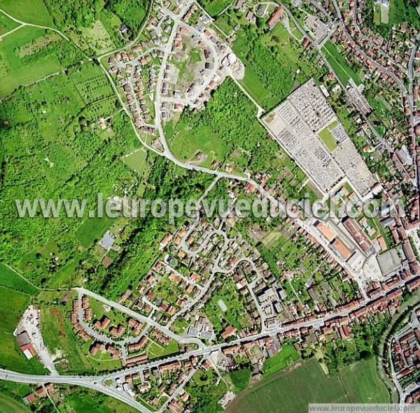 Photos a riennes de lun ville 54300 le faubourg de - Zone commerciale nancy ...
