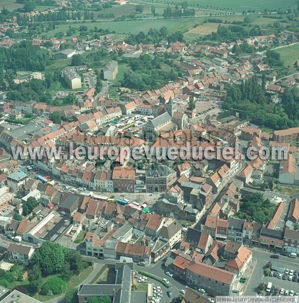 L 39 europe vue du ciel photos a riennes de lillers 62190 for Piscine lillers