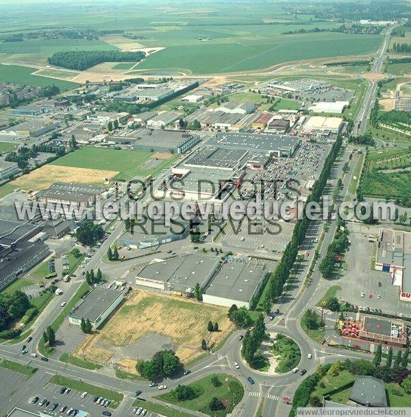 Photos a riennes de arras 62000 la zone d 39 activit - Zone commerciale amiens nord ...
