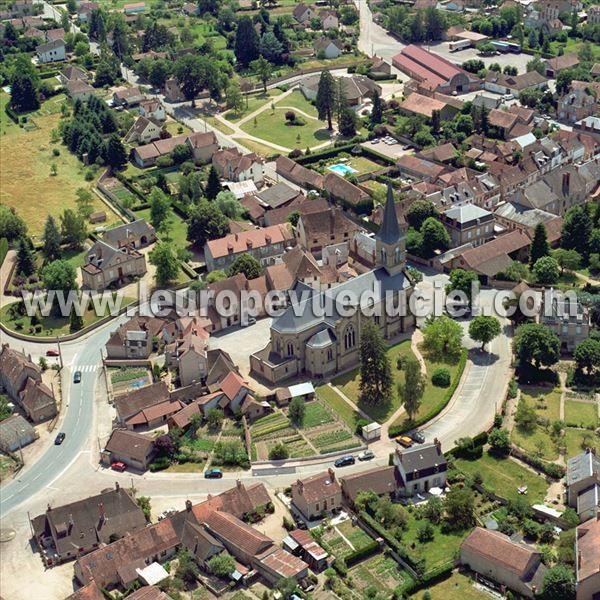 L 39 europe vue du ciel photos a riennes de cosne d 39 allier for Garage cosne d allier