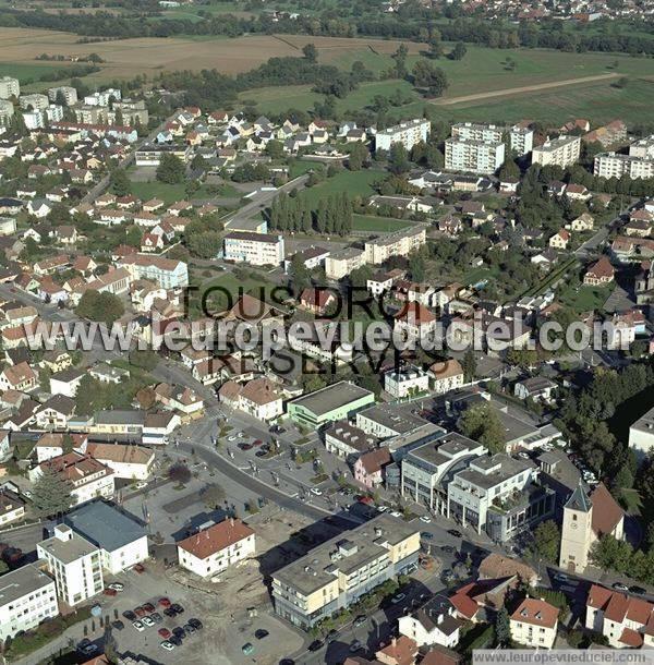 Illzach France  city pictures gallery : Photos aériennes de Illzach 68110 | Haut Rhin, Alsace, France L ...