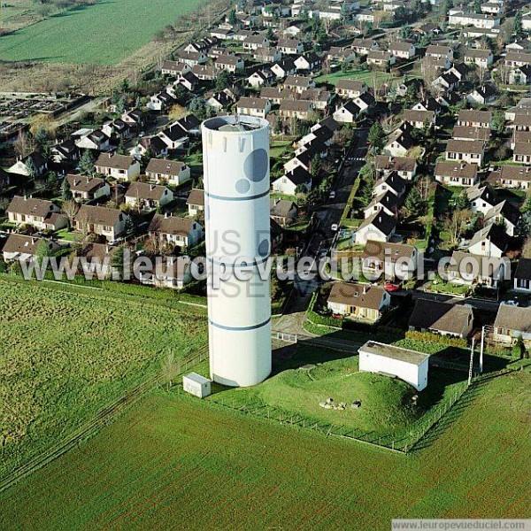 Photos aériennes de Marly (57157) - Le Château d\'Eau | Moselle ...