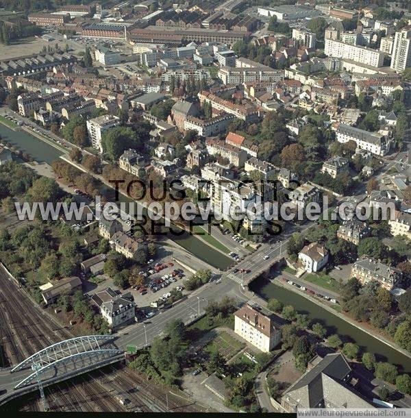 Photos a riennes de mulhouse 68100 le quartier de la fonderie porte du miroir haut rhin - Mulhouse habitat porte du miroir ...