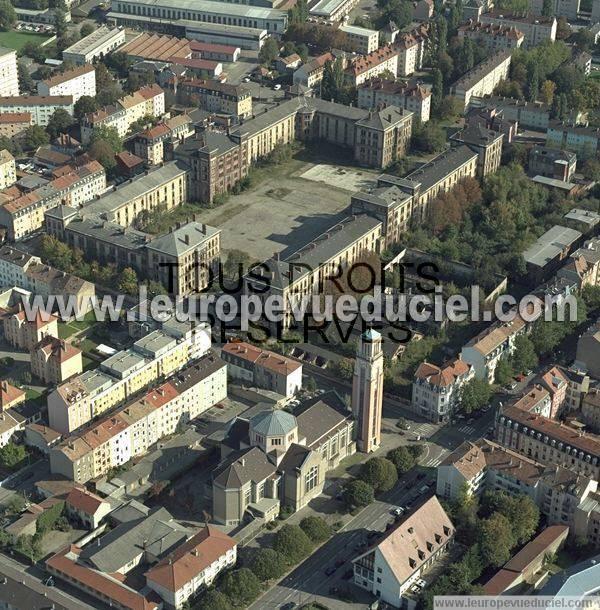 Photos a riennes de mulhouse 68100 le quartier neppert vauban haut rhin alsace france - Eglise porte ouverte de mulhouse ...