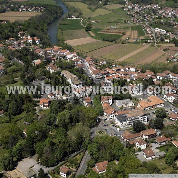 L 39 europe vue du ciel photos a riennes de cambo les bains - Office du tourisme de cambo les bains ...