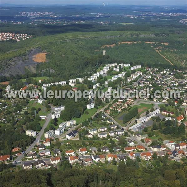 Photos a riennes de forbach 57600 bruch moselle lorraine france l 39 europe vue du ciel - Leroy merlin forbach ...
