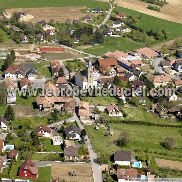 Photo aérienne de Rantzwiller