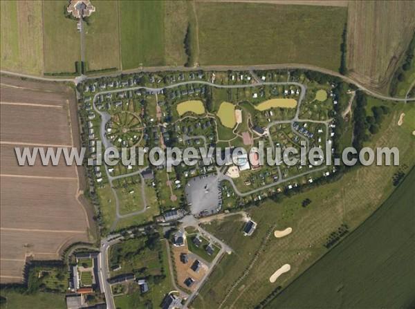 Photos a riennes de l 39 europe vue du ciel - Camping portland port en bessin ...