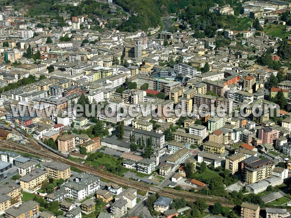 Photo aérienne de Sondrio (Sondrio)