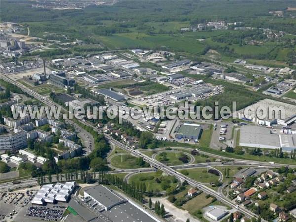 Photos a riennes de besan on 25000 les quartiers planoise et ch teaufarine doubs franche - Centre commercial chateaufarine ...