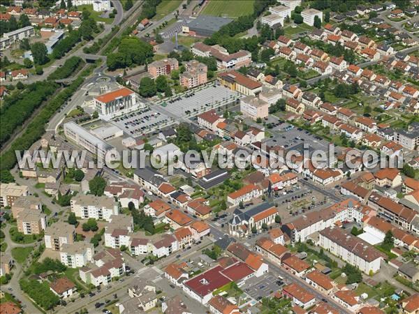 L 39 europe vue du ciel photos a riennes de stiring wendel - Stiring wendel cauchemar en cuisine ...