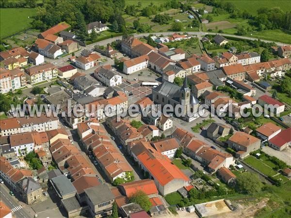 L 39 europe vue du ciel photos a riennes de faulquemont for Piscine faulquemont