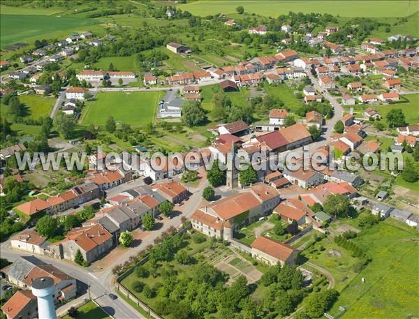 L 39 europe vue du ciel photos a riennes de val de bride - Les jardins du val de moselle ...
