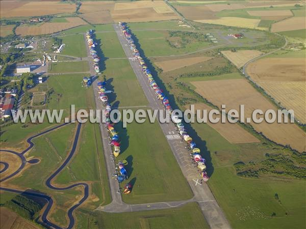 Photo aérienne de Chambley-Bussières