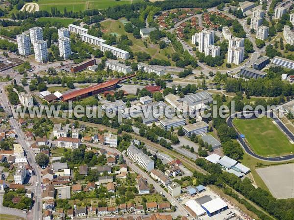 Photo a rienne de limoges 87000 le centre ville for Garage limoges centre ville