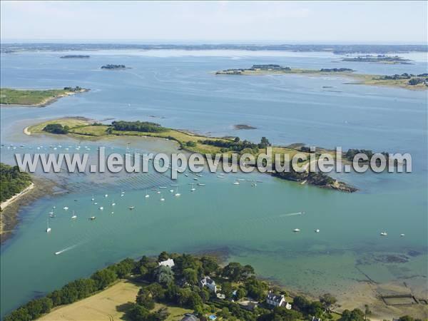 Photos aériennes de Séné (56860) - L\'Ïle de Boëdic | Morbihan ...