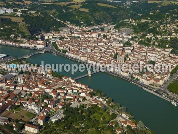 L 39 europe vue du ciel photos a riennes de vienne 38200 is re rh ne alpes france - Office tourisme vienne 38 ...