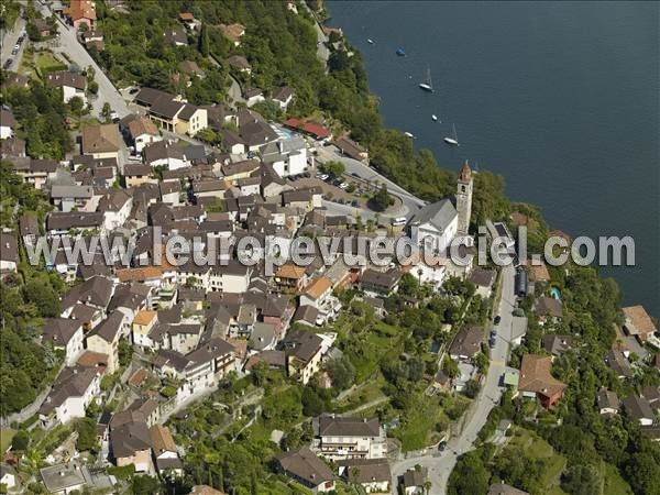 Photo aérienne de Ronco sopra Ascona