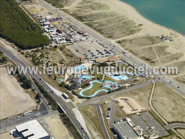 Photos a riennes de leucate 11370 port leucate aude languedoc roussillon france l - Cinema port leucate 11370 ...