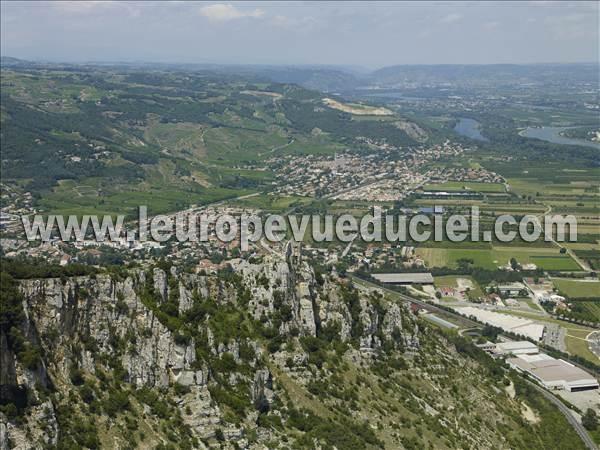 Photos a riennes de guilherand granges 07500 les ruines du ch teau de crussol ard che - Guilherand granges 07500 ...