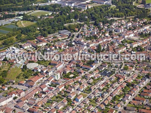 L 39 europe vue du ciel photos a riennes de thaon les - Piscine thaon les vosges ...