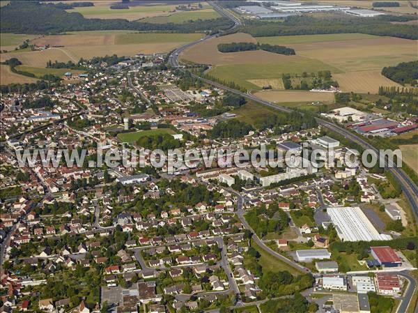 Photos a riennes de fontenay tr signy 77610 seine et for Piscine de fontenay tresigny