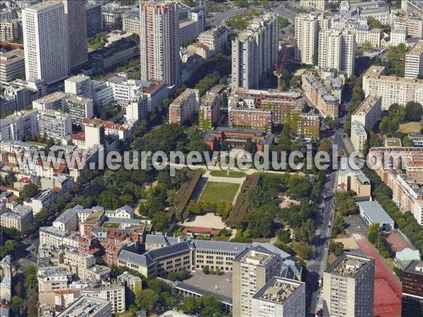 Photos a riennes de paris 75000 quartier place d - Piscine place d italie ...