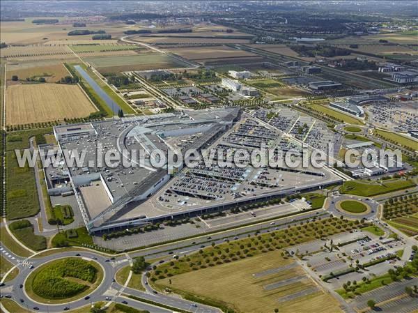 Photos a riennes de carr l 39 europe vue du ciel - Offre d emploi carre senart ...