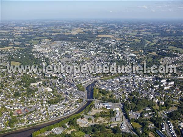 L 39 europe vue du ciel photos a riennes de lannion 22300 - Comptoir metallurgique de bretagne lannion ...