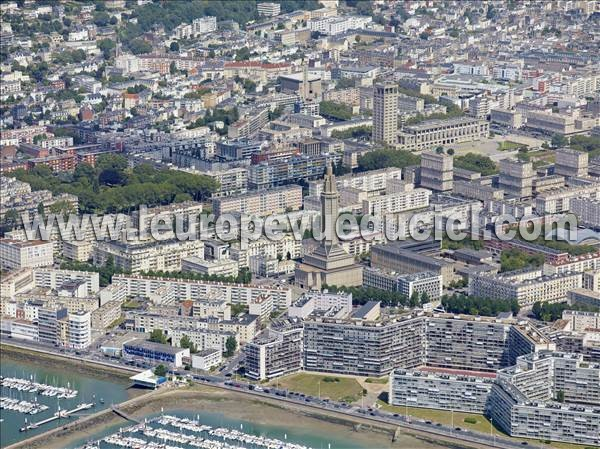 Photo aérienne de Le Havre