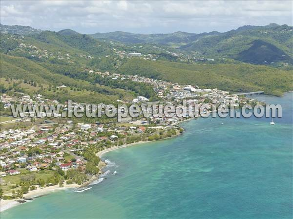 L 39 europe vue du ciel photos a riennes de sainte luce 97228 martinique martinique france - Office du tourisme martinique sainte luce ...