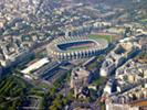 Photos aériennes de Paris (75000) - Autre vue | Paris, Ile-de-France, France - Photo réf. T082355 - Le Parc des Princes, le stade de football du Paris-Saint-Germain.