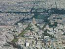 Photos aériennes de Paris (75000) - Autre vue | Paris, Ile-de-France, France - Photo réf. U115914 - L'Hôtel des Invalides à Paris.