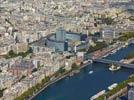 Photos aériennes de Paris (75000) - Autre vue | Paris, Ile-de-France, France - Photo réf. E125056 - La Maison de Radio-France